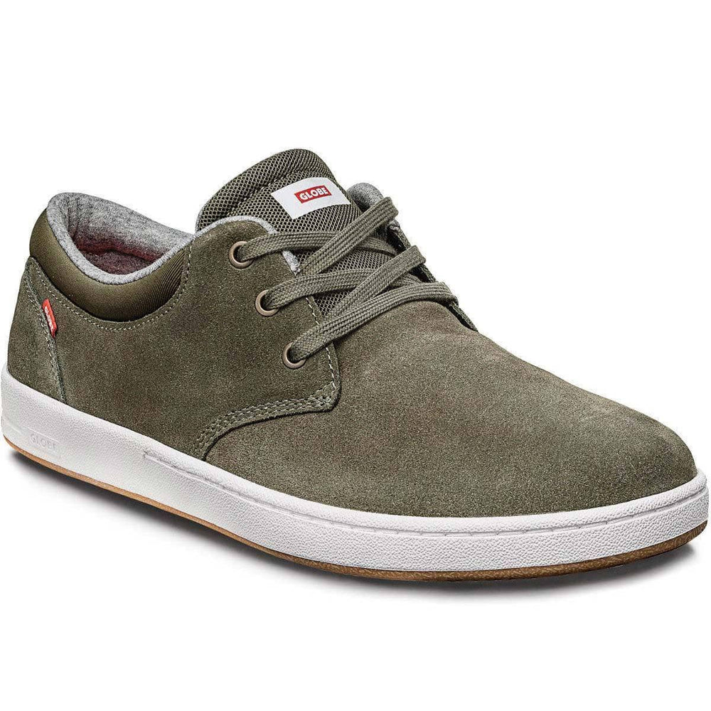 Globe Winslow SG Skate Shoes - Stone Green White Mens Skate Shoes by Globe