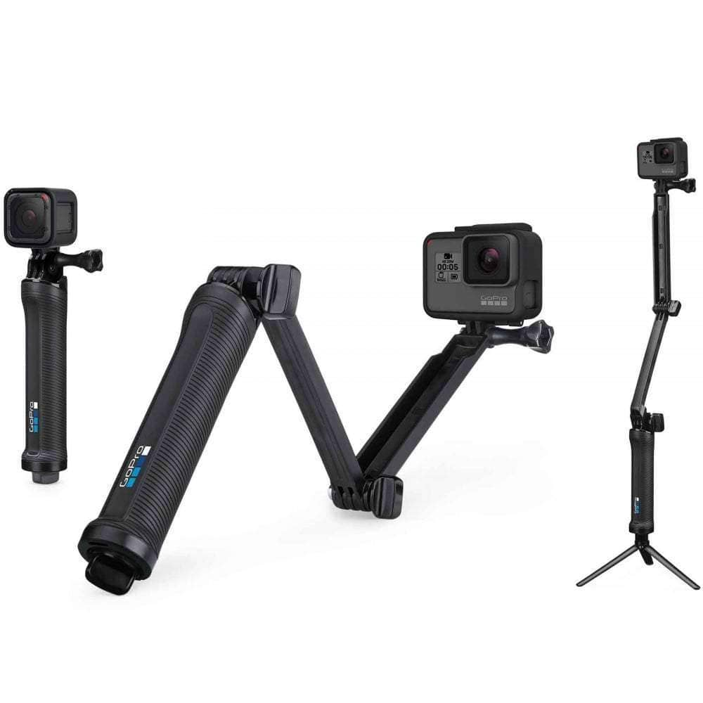GoPro 3 Way Grip Arm Tripod Camera Pole/Selfie Stick by GoPro