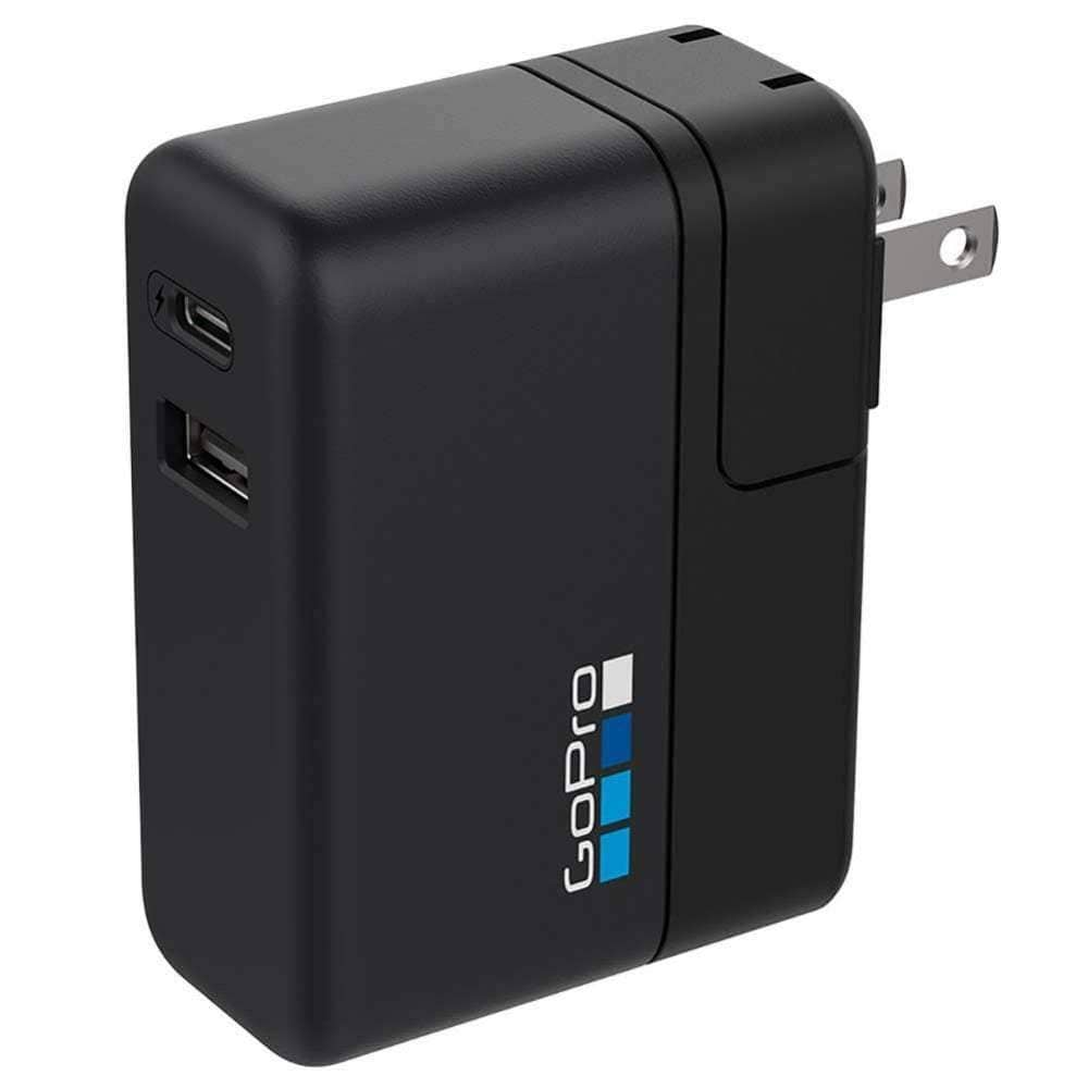GoPro Supercharger Dual Port Wall Charger EN/SP/SE Action Camera Accessory by GoPro