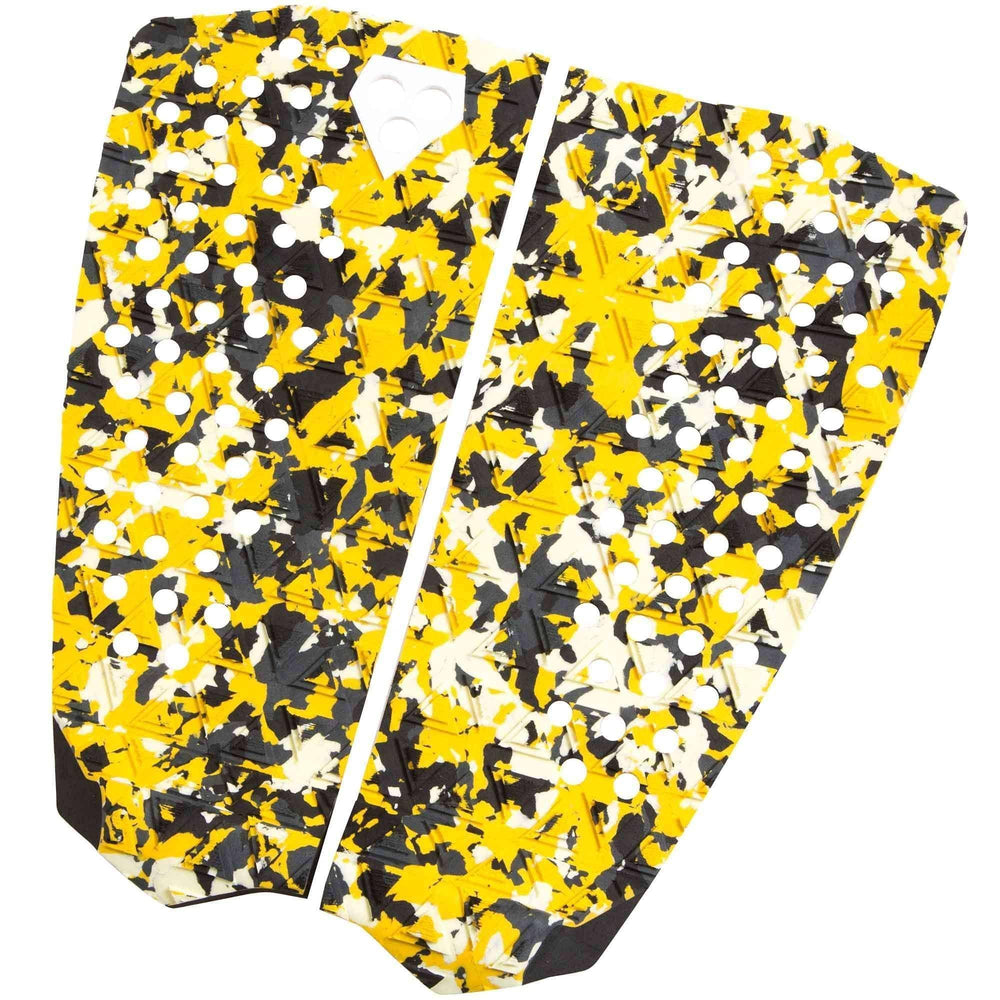 Gorilla Dos Camo Pulped Surfboard Tail Pad 2 Piece Tail Pad by Gorilla Surf