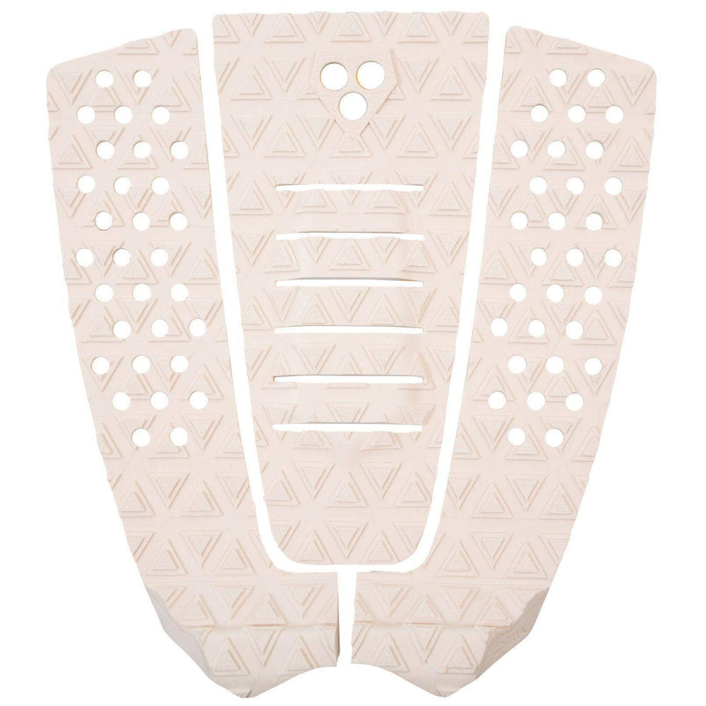Gorilla Surf The Jane Tail Pad Surfboard Deck Grip - Skin Beige 3 Piece Tail Pad by Gorilla Surf O/S (one size)