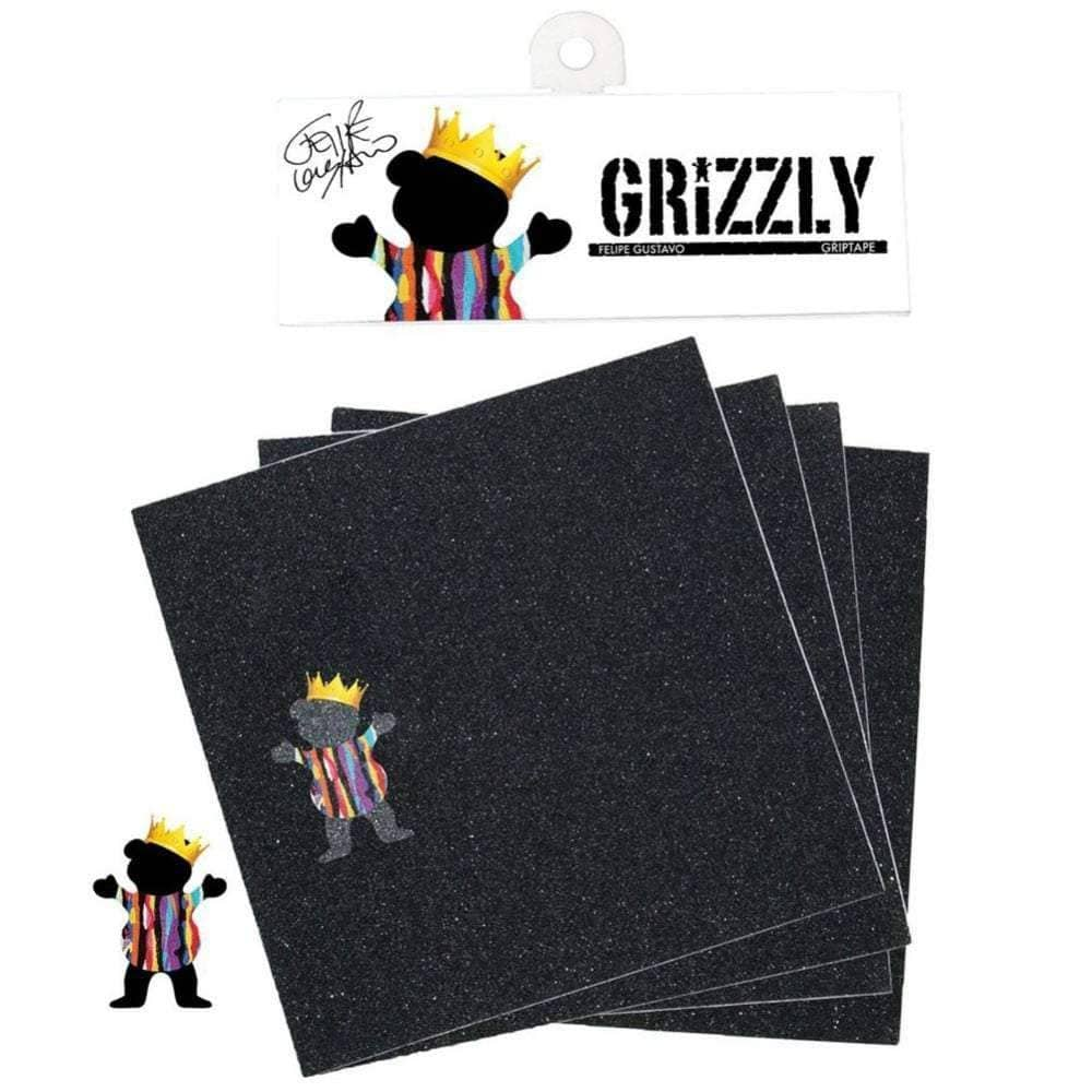 Grizzly Felipe Gustavo Skateboard Griptape Skateboard Grip Tape by Grizzly