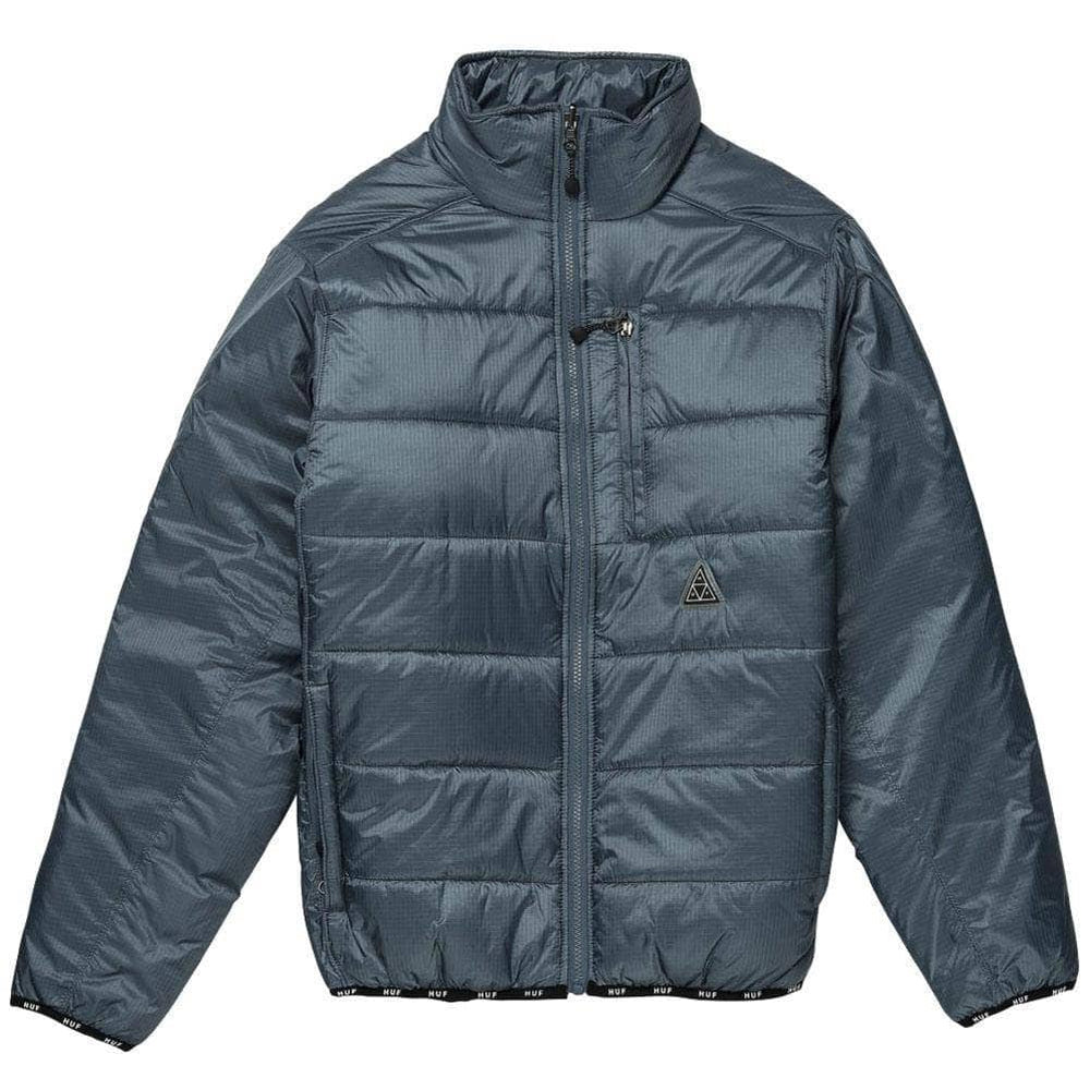 Huf Geode Puffy Jacket - Blue Mirage Mens Casual Jacket by Huf