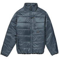 Huf Mens Casual Jacket Huf Geode Puffy Jacket - Blue Mirage