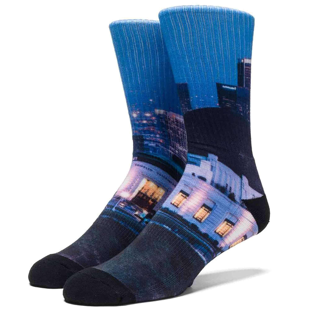 HUF Griffth Crew Sock in Multi Mens Crew Length Socks by Huf