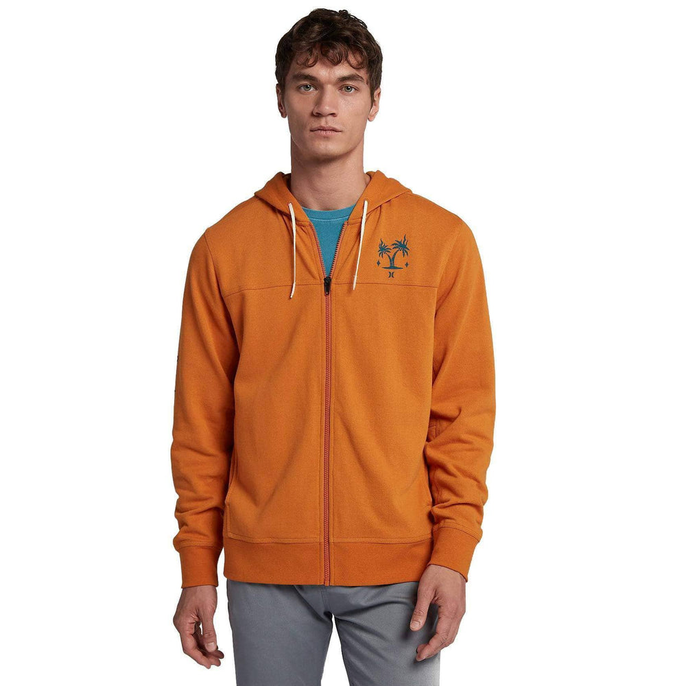 Hurley Atlas Boxed Full Zip Hood in Monarch Mens Zip Up Hoodie by Hurley