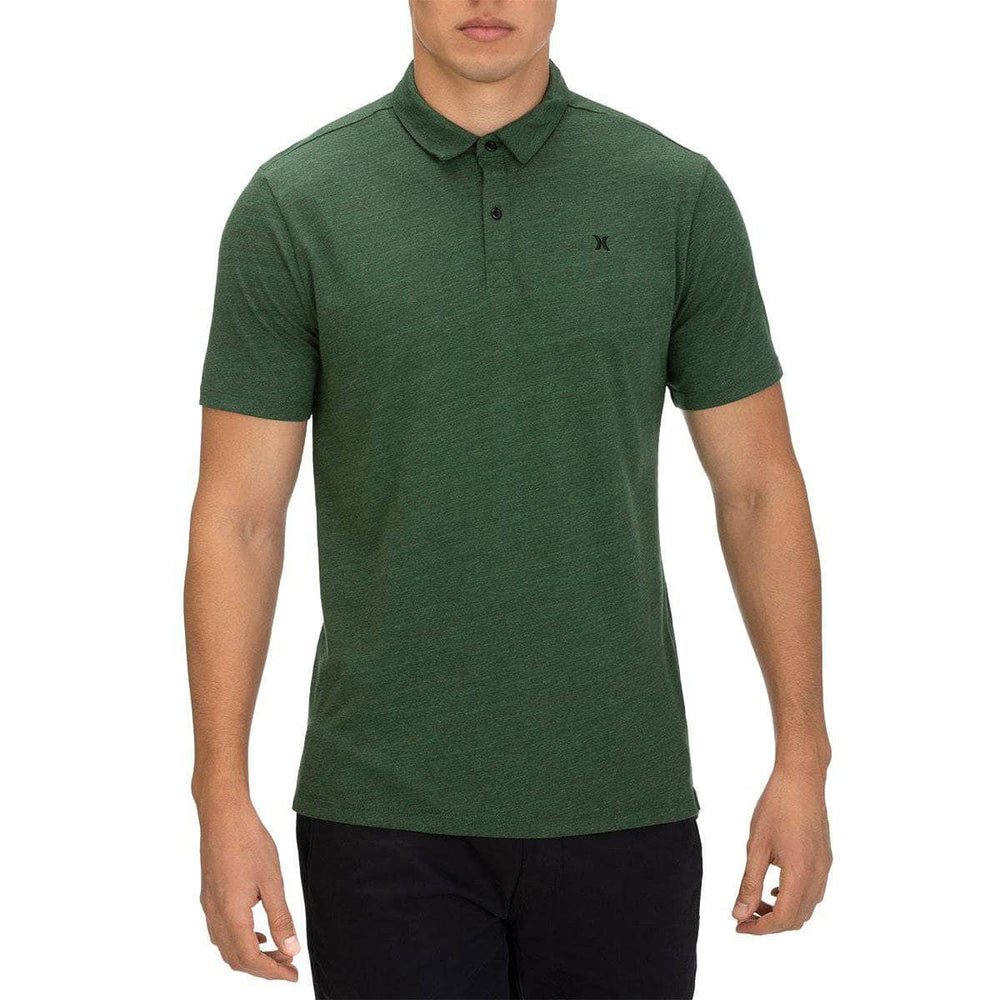 Hurley Dri-Fit Coronado Polo Shirt - Dark Forest Mens Polo Shirt by Hurley