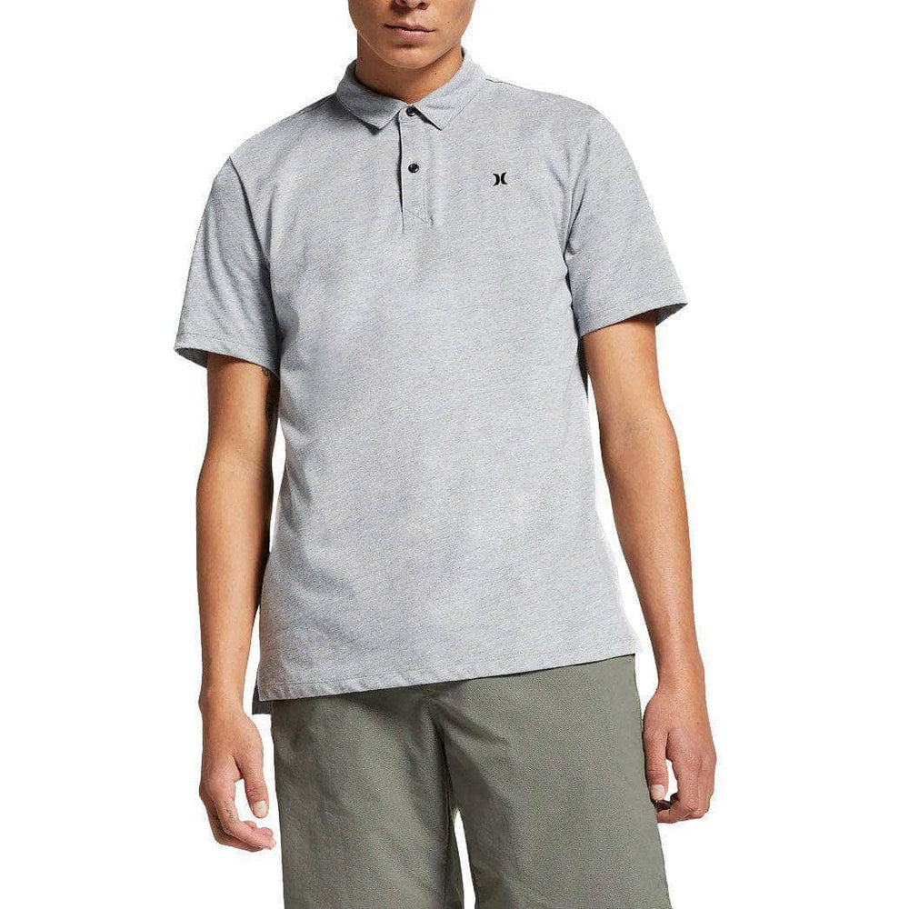 Hurley Mens Polo Shirt Hurley Dri-Fit Coronado Polo Shirt - Grey Heather