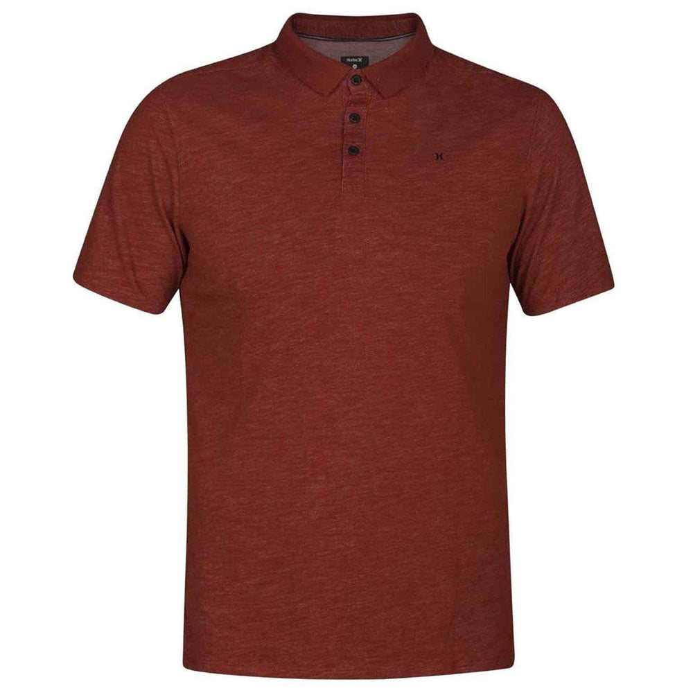 Hurley Dri-Fit Lagos Polo in Mars Stone Mens Polo Shirt by Hurley