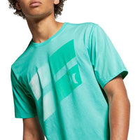 Hurley Icon Slash Gradient T-Shirt - Tropic Twist Mens Graphic T-Shirt by Hurley
