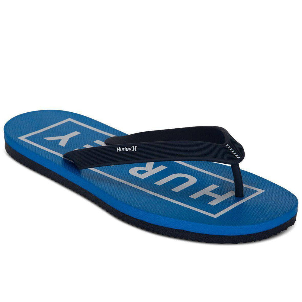 Hurley One & only 2.0 Boxed Sandal - Obsidian Mens Flip Flops by Hurley