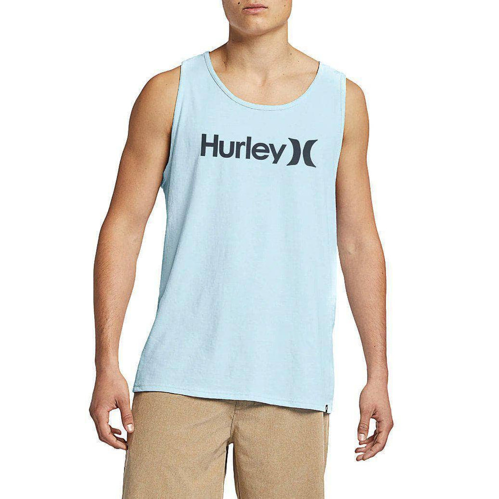 Hurley One & Only Tank Vest - Topaz Mist Mens Surf Brand Vest/Tank Top by Hurley