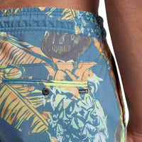 Hurley Paradise Volley Shorts in Blue Force Mens Boardshorts by Hurley