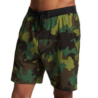 Hurley Phantom Alpha Trainer Shorts - Cargo Khaki Mens Boardshorts by Hurley