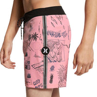 Hurley Phantom Doom 16 Boardshort - Pink Gaze Mens Boardshorts by Hurley