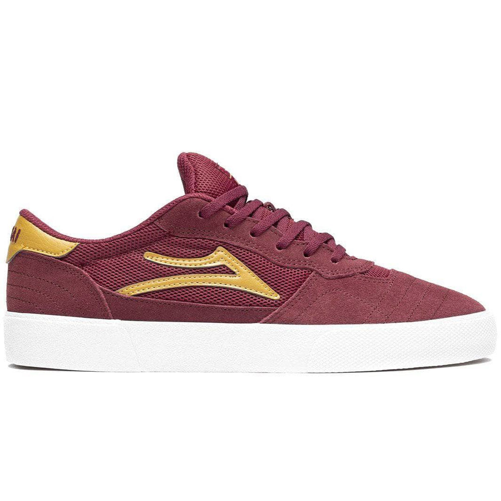Lakai Cambridge Skate Shoes - Burgundy Suede Mens Skate Shoes by Lakai