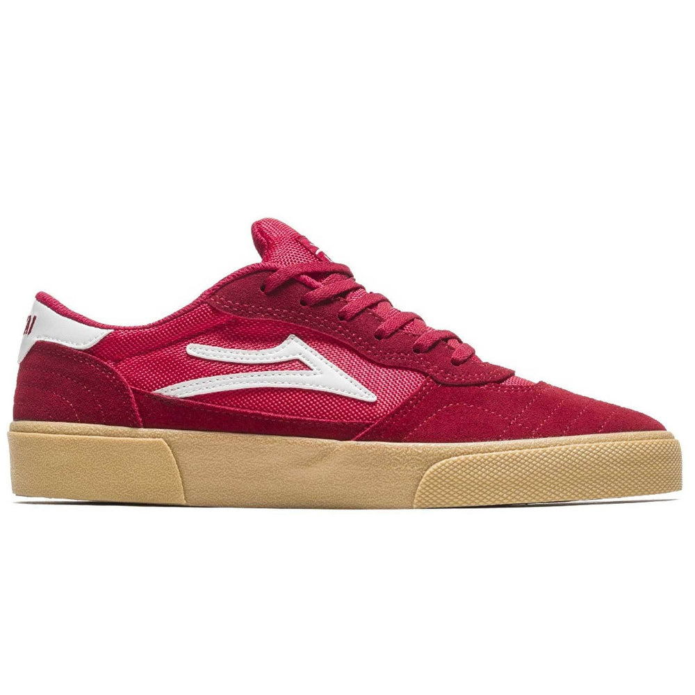 Lakai Cambridge Skate Shoes - Red Gum Suede Mens Skate Shoes by Lakai