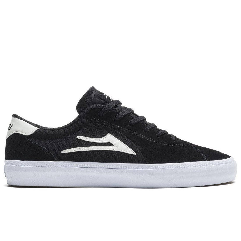 Lakai Flaco II Skate Shoes - Black Suede Mens Skate Shoes by Lakai