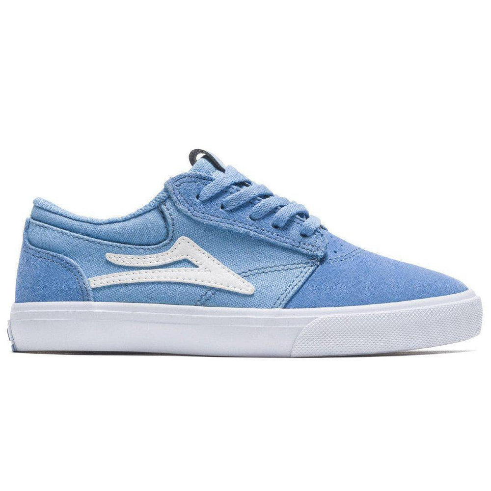 Lakai Griffin Kids Skate Shoes - Light Blue Suede Boys Skate Shoes by Lakai