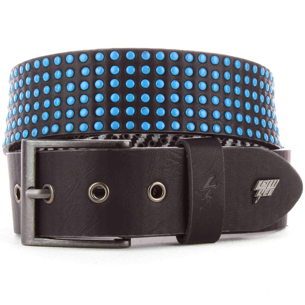 Lowlife Wallace Belt in Black Blue Mens Casual Belt by Lowlife