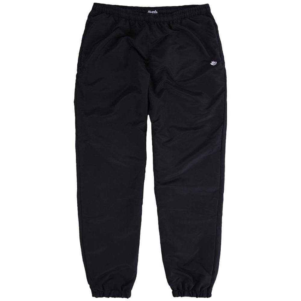 Magenta Plant Logo Trackpants Black Mens Joggers by Magenta