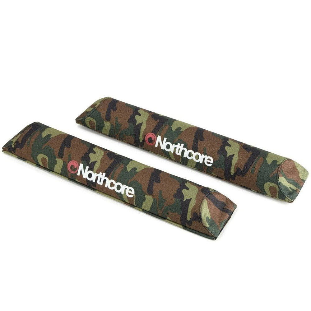 Northcore Car Hard Roof Rack Pads Northcore Aero Roof Bar Pads Camo O/S (one size)
