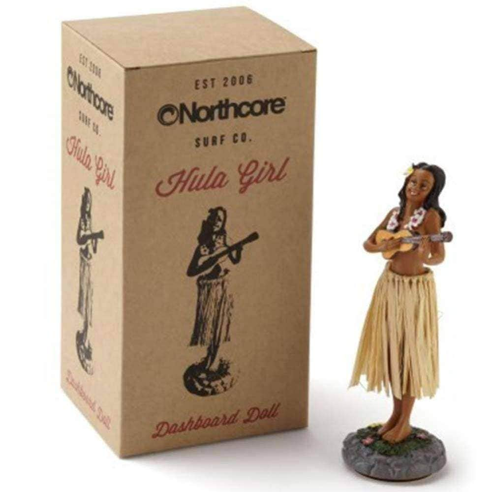 Northcore Gifts for Surfers Northcore Hawaiian Hula Dashboard Doll
