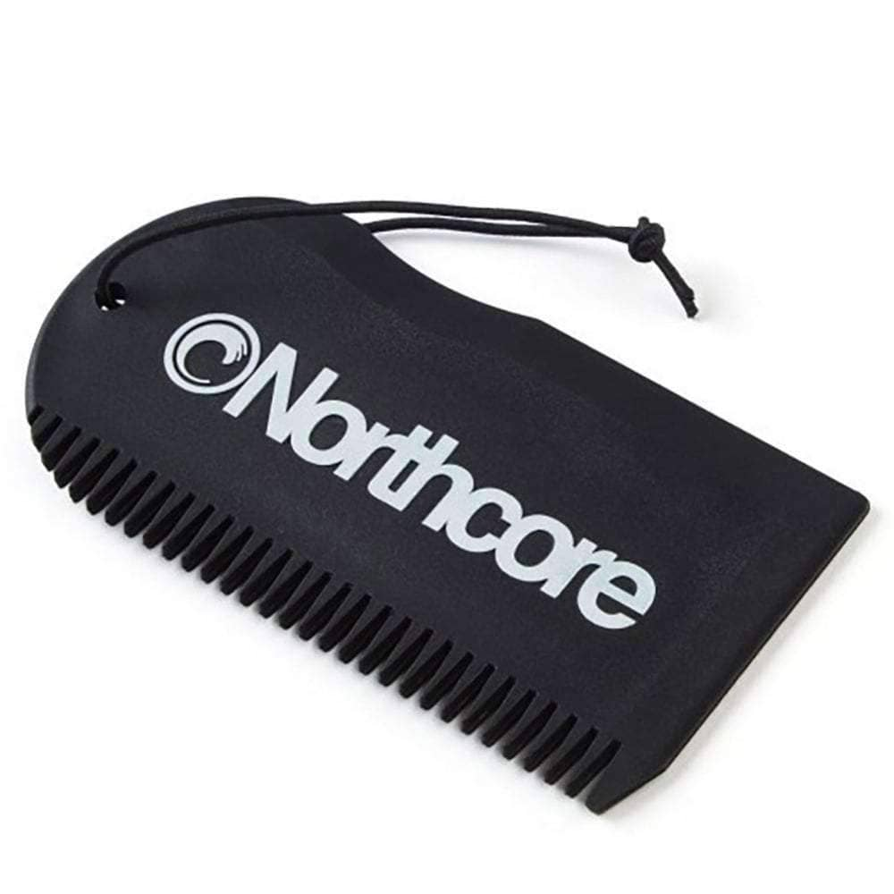 Northcore Surf Wax Comb in Black Surf Wax Remover by Northcore O/S (one size)