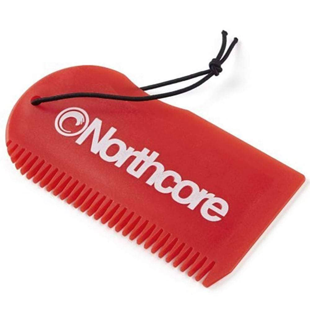 Northcore Surf Wax Comb in Red Surf Wax Remover by Northcore O/S (one size)