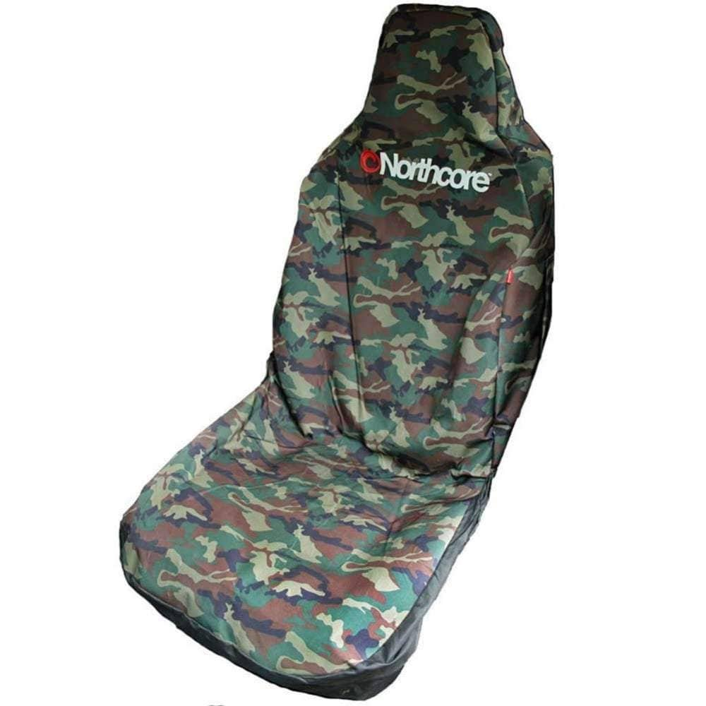 Northcore Gifts for Surfers Northcore Waterproof Car Seat Cover Single Camo O/S (one size)