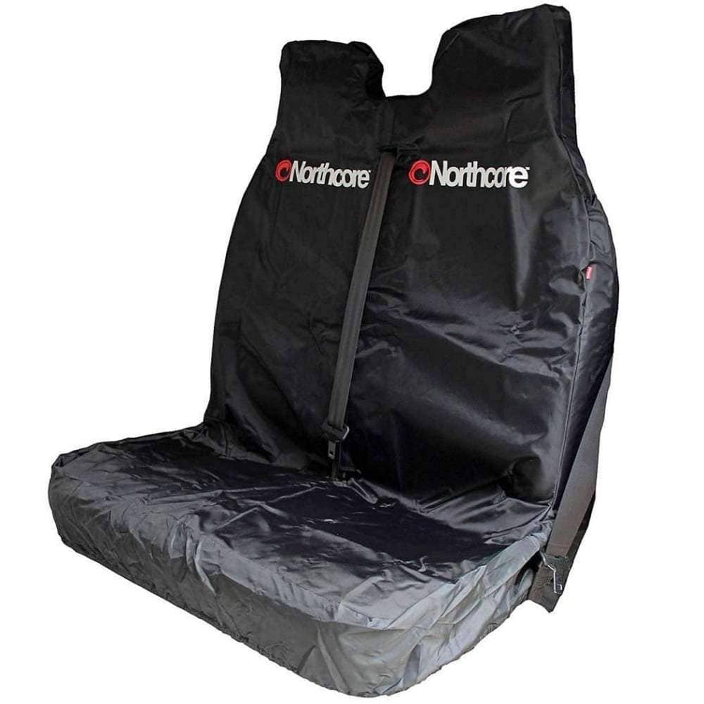 Northcore Gifts for Surfers Northcore Waterproof Van Double Seat Cover in Black O/S (one size)