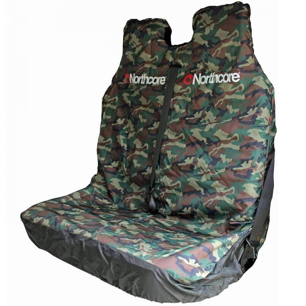 Northcore Gifts for Surfers Northcore Waterproof Van Double Seat Cover in Camo O/S (one size)