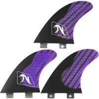 Nutz FCS Surfboard Fins Various Colours FCS Dual Tab Fins by Nutz Medium Fins