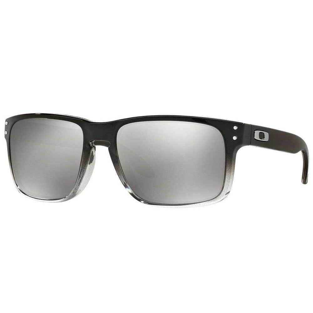 Oakley Holbrook Sunglasses - Dark Ink Fade - Polarized Chrome Iridium Square/Rectangular Sunglasses by Oakley O/S (one size)