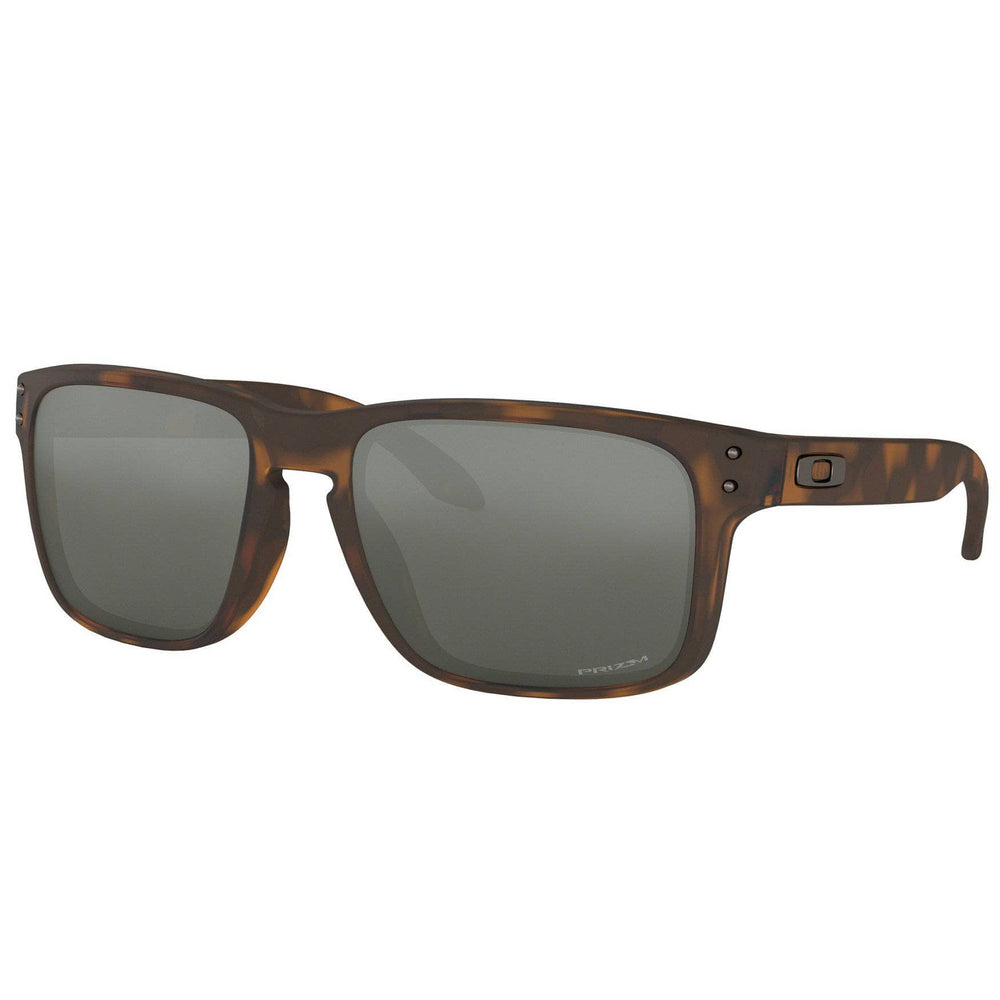 Oakley Holbrook Sunglasses - Matte Brown Tortoise - Prizm Black Iridium Square/Rectangular Sunglasses by Oakley O/S (one size)