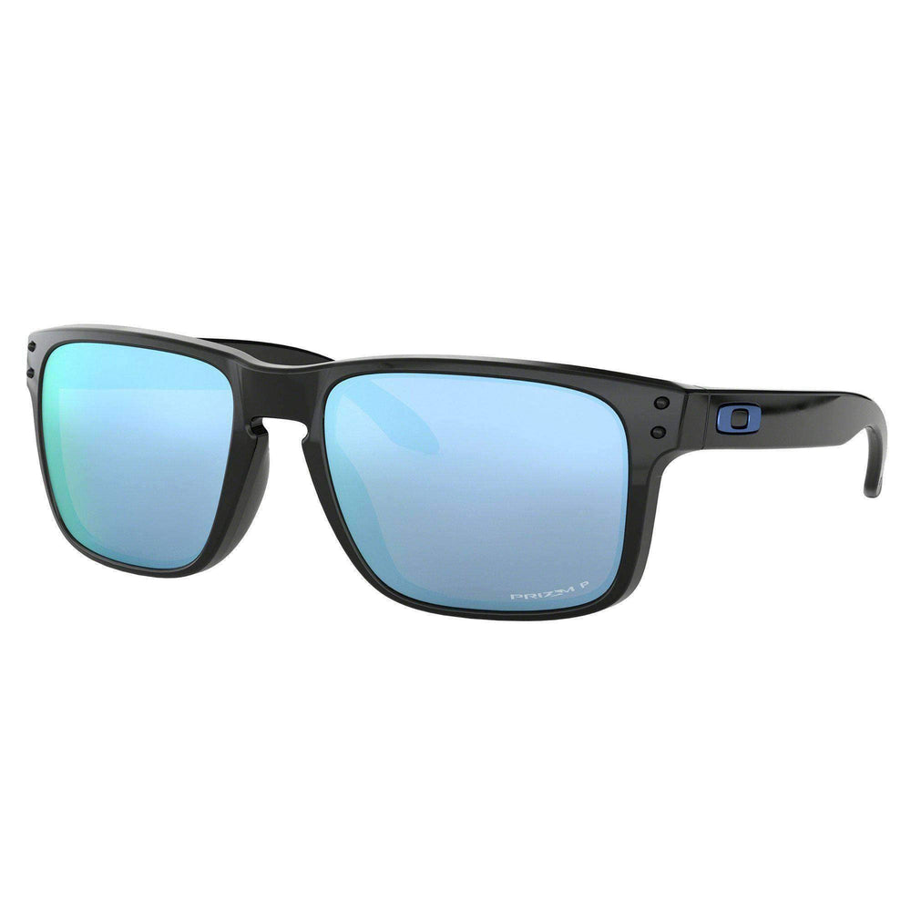 Oakley Holbrook Sunglasses - Polished Black Prizm Deep Water H2O Polarized Polished Black N/A Square/Rectangular Sunglasses by Oakley