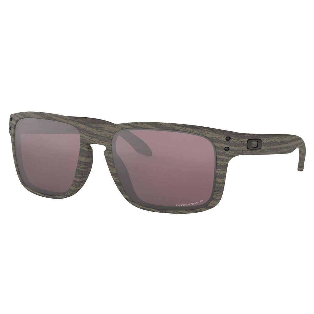 Oakley Oakley Holbrook Sunglasses - Woodgrain Prizm Daily Polarized Woodgrain N/A Square/Rectangular Sunglasses by Oakley
