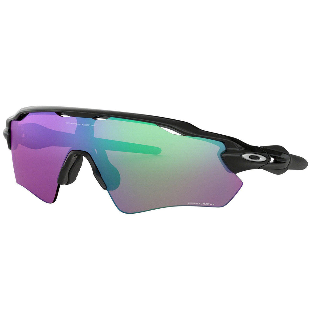Oakley Radar EV Path Sunglasses - Polished Black - Prizm Golf Wrap Around Sunglasses by Oakley O/S (one size)