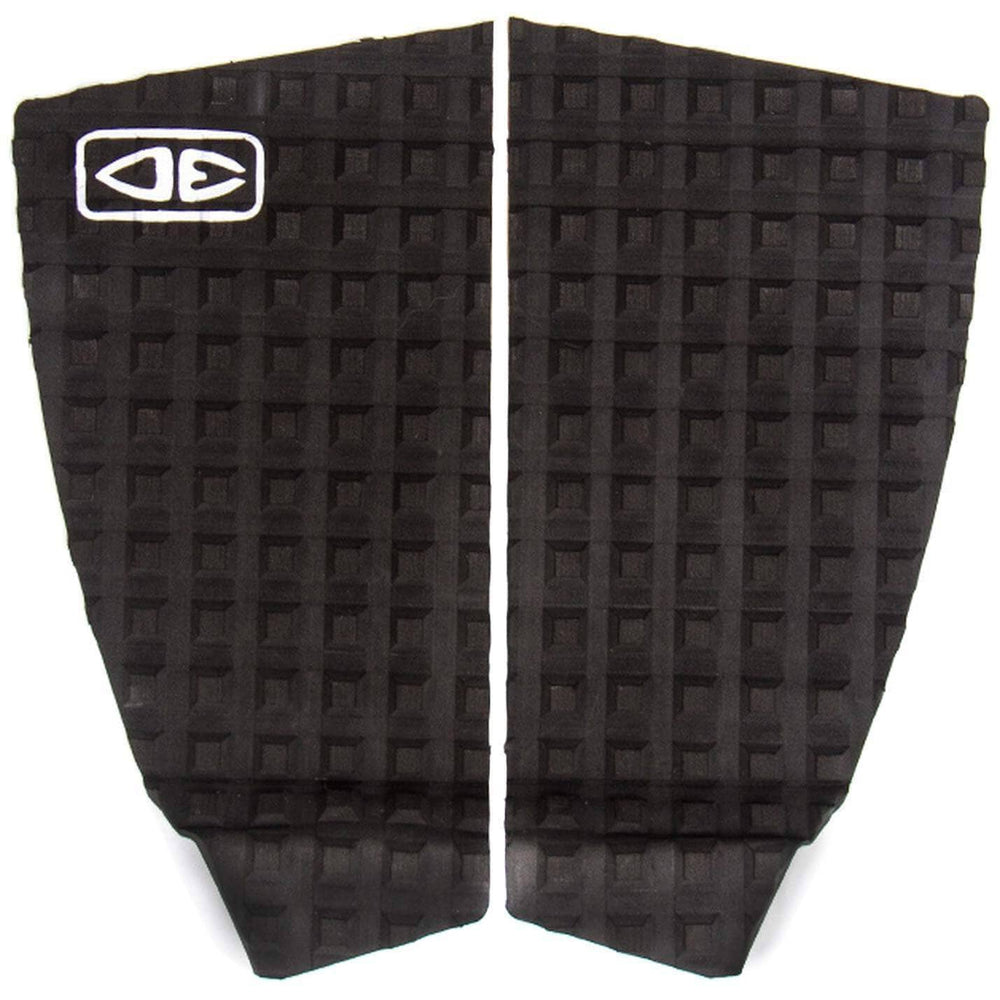 Ocean and Earth Thrash 2 Piece Fish/Hybrid Tail Pad Surfboard Deck Grip - Black 2 Piece Tail Pad by Ocean and Earth O/S (one size)