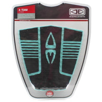 Ocean & Earth A-Team Tail Pad Surfboard Grip in Black Mint 3 Piece Tail Pad by Ocean and Earth