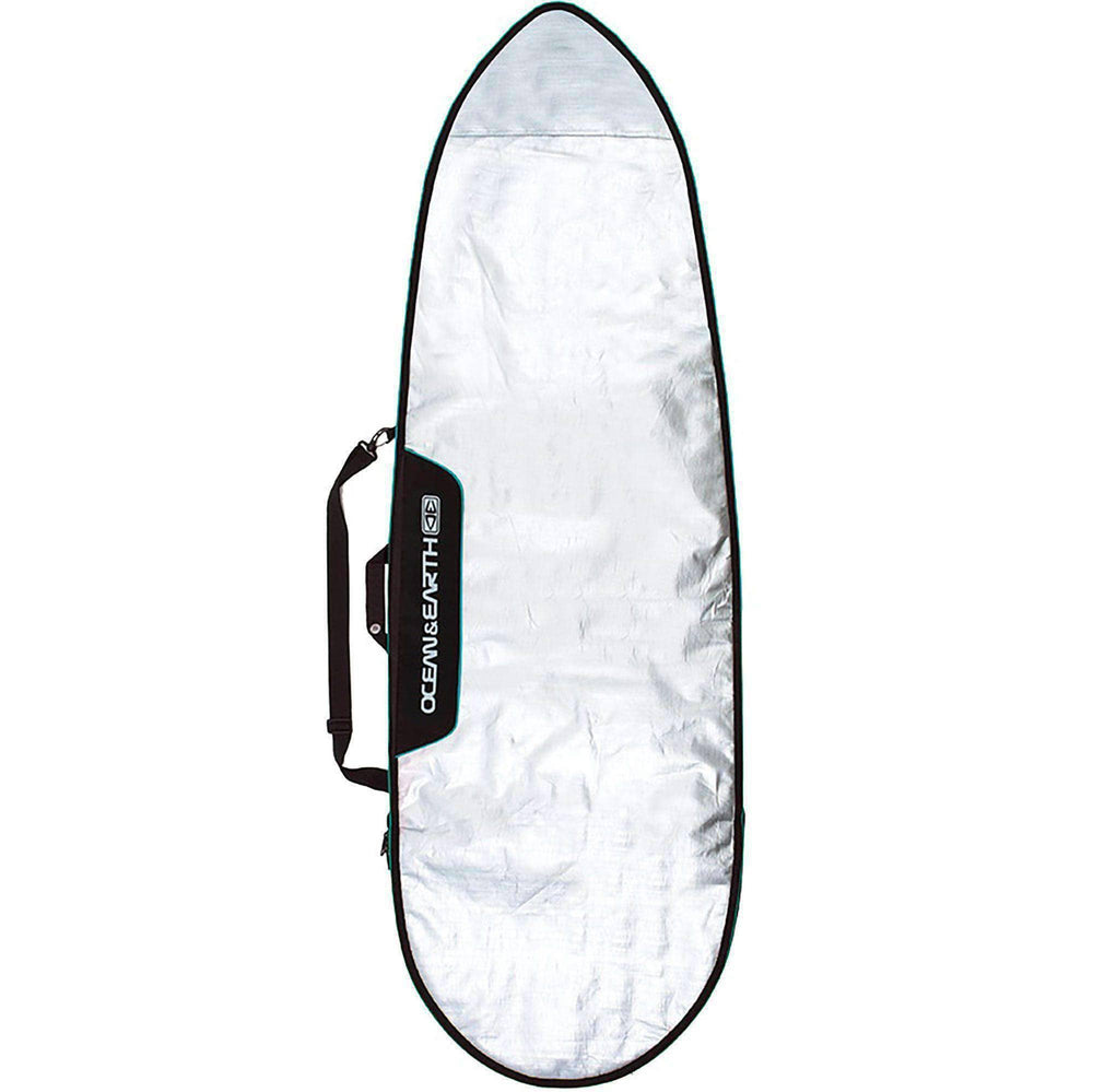 Ocean & Earth Barry Basic 5'8 Fish Board Cover - Blue Surfboard Day Runner Bag/Cover by Ocean and Earth