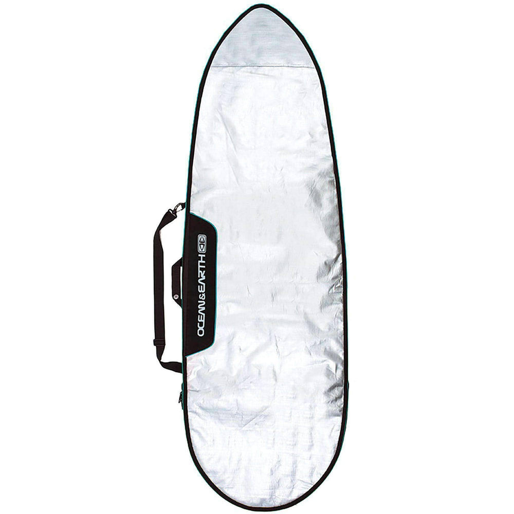 Ocean & Earth Barry Basic 7'6 Fish Board Cover - Blue Surfboard Day Runner Bag/Cover by Ocean and Earth
