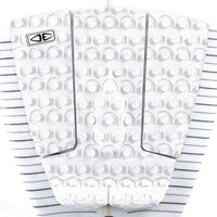 Ocean & Earth Octo Surfboard Tail Pad in White 3 Piece Tail Pad by Ocean and Earth