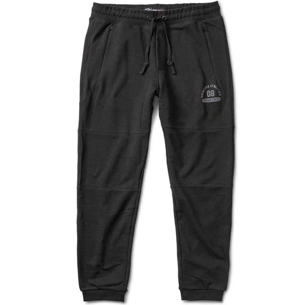 Primitive Apparel 3-Panel Sweatpant in Black Mens Joggers by Primitive