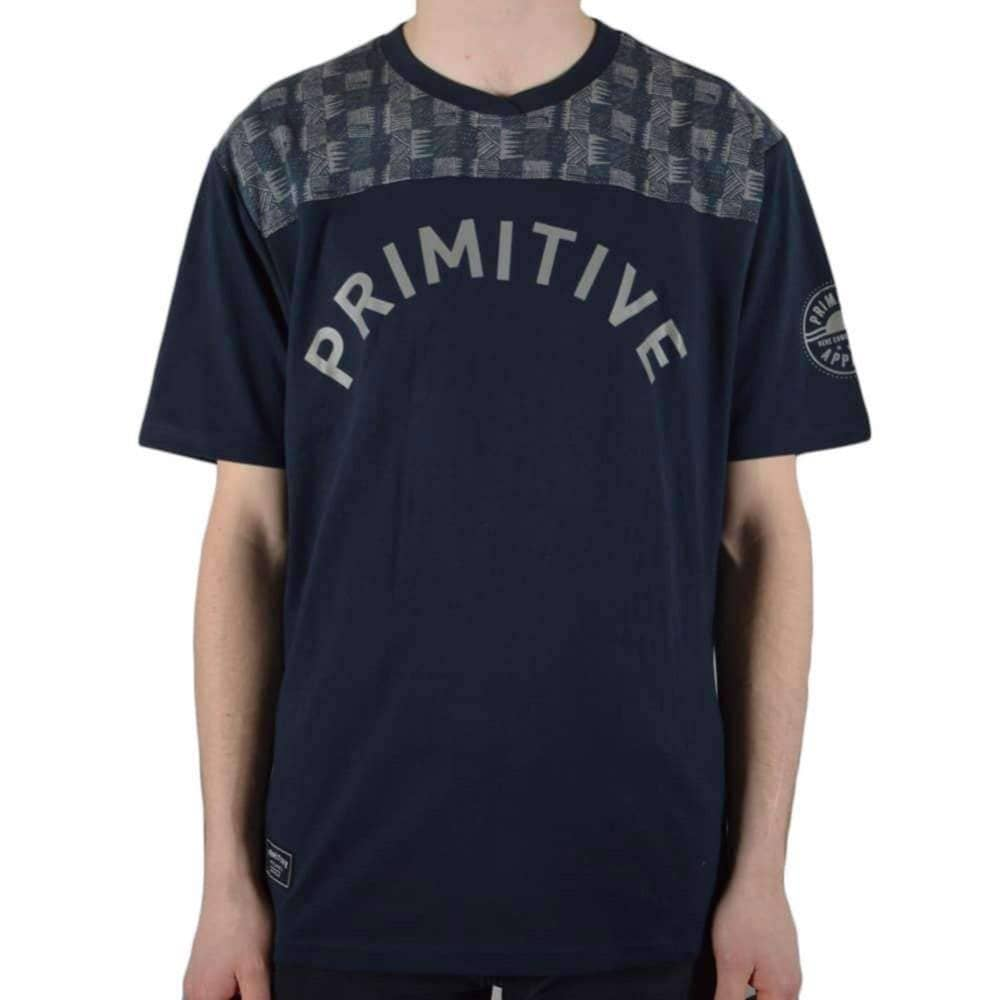Primitive Arch Soccer Jersey in Midnight Mens Graphic T-Shirt by Primitive