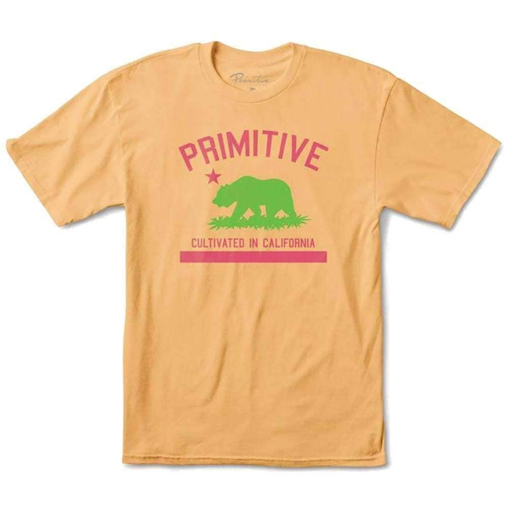 Primitive Cultivated T-Shirt in Squash Mens Graphic T-Shirt by Primitive