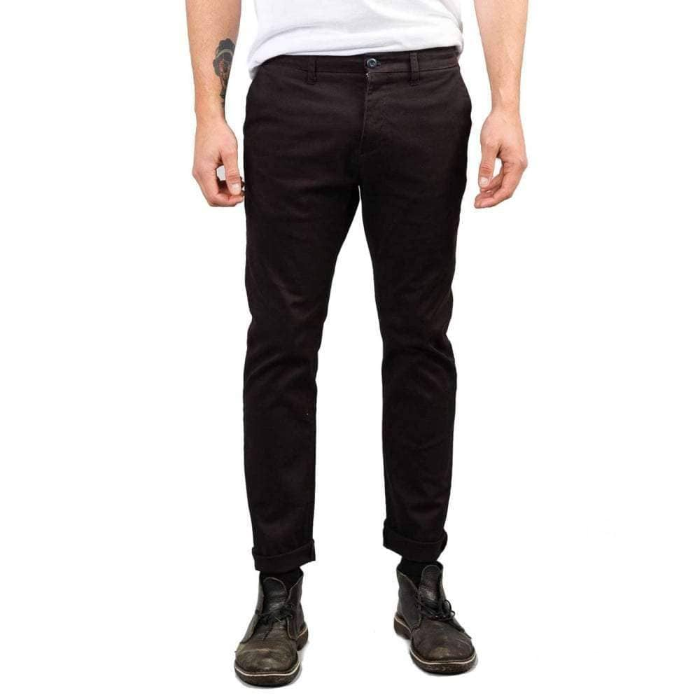 Rusty Panhead Pant in Black Mens Chino Pants/Trousers by Rusty