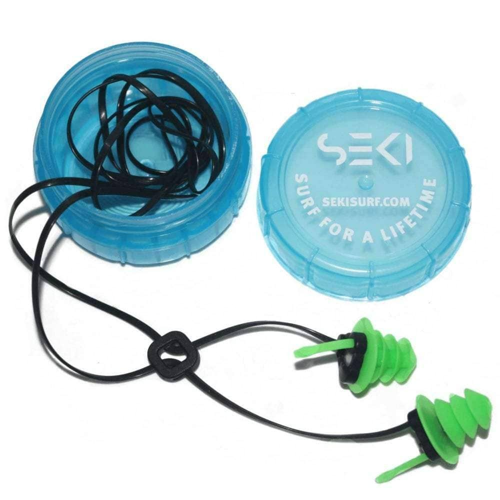 Seki Waterproof Acoustic Ear Plugs - Surf Swim Surfing Ear Plugs by Seki