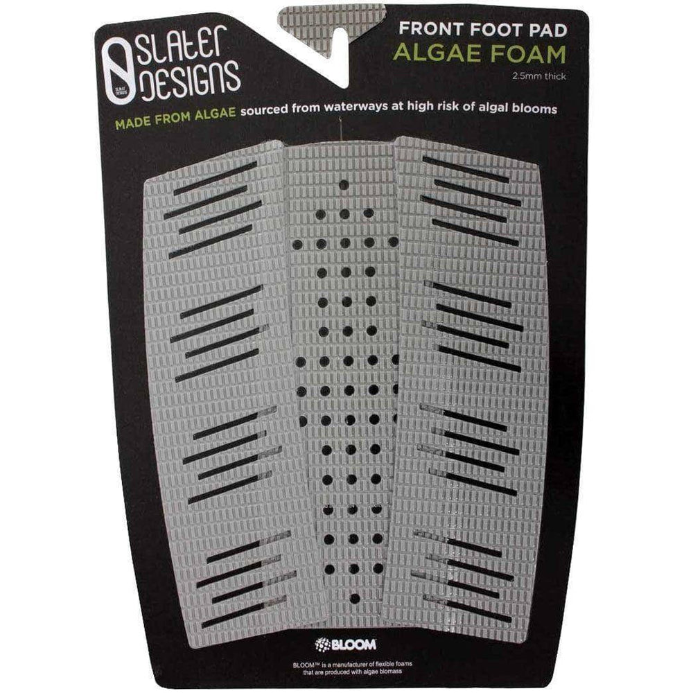 Slater Designs Full Traction/Front Foot Surfboard Pad Slater Designs Front Foot Algae Foam Traction pad Grey/Black O/S (one size)