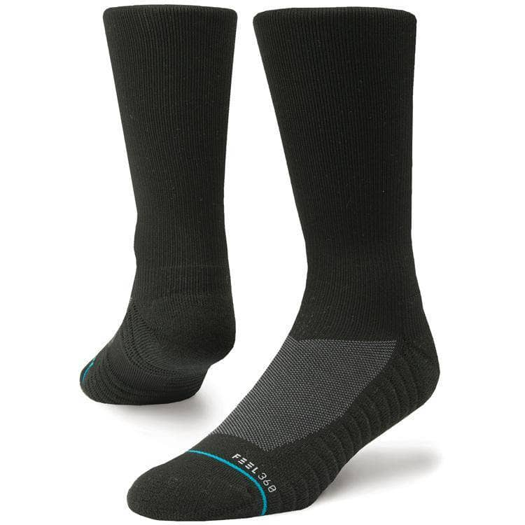 Stance Athletic Icon 2 - Black Mens Running/Training Socks by Stance